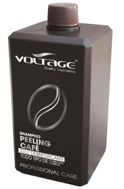 voltage champu peeling cafe